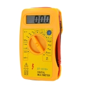 DT-831B+ Mini Digital Multimeter DMM Voltmeter Ammeter Ohmmeter hFE Tester w/Battery Test