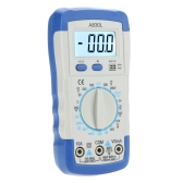 A830L Pocket-size DMM Digital Multimeter Ammeter Voltmeter Ohmmeter hFE Tester w/LCD Backlight