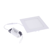 9W Square LED Recessed Ceiling Panel Light Down Lamp Ultra Thin Bright for Living Room Bathroom Bedroom Kitchen AC85-265V