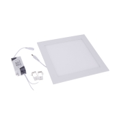 18W Square LED Recessed Ceiling Panel Light Down Lamp Ultra Thin Bright for Living Room Bathroom Bedroom Kitchen AC85-265V