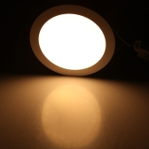 15W Round LED Recessed Ceiling Panel Light Down Lamp Ultra Thin Bright for Living Room Bathroom Bedroom Kitchen AC85-265V