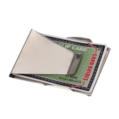 Double-Sided Money Clip Stainless Steel Cash Clips Slim Clip Credit Card Holder