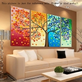 DIY Handmade Needlework Cross Stitch Set Embroidery Kit Precise Printed Big Tree Pattern Cross-Stitching 120 * 57cm Home Decoration