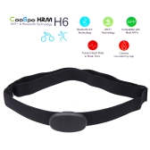 CooSpo H6 ANT Bluetooth V4.0 Wireless Sport Heart Rate Monitor Smart Sensor Chest Strap for iPhone 4S 5 5S 5C 6 6Plus iPad Wahoo Fitness Fitcare