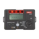 UNI-T UT502A  2500V Insulation Resistance Tester Megohmmeter Voltmeter Continuity Tester w/LCD Backlight