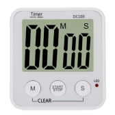 LCD Digital Cooking Kitchen Countdown Timer Alarm Count Down Timer
