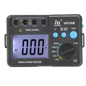 HD HDT20B Insulation Resistance Tester Meter Megohmmeter Voltmeter 2500V w/ LCD Backlight