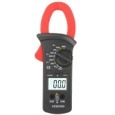 HD HD9250G 600A Digital Clamp Meters Amp Volt Ohmmeter Continuity Tester w/LCD Backllight & Diode Test