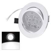 5*1W LED Recessed Ceiling Down Light Lamp Spotlight Indoor for Home Living Room Decoration Lighting with Driver 85-265V