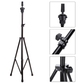 Adjustable Tripod Stand Holder Hairdressing Training Head Mold Mannequin Holder Salon Hair Clamp