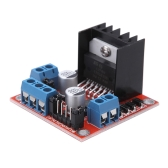 "DC 5V L298N Stepper Motor Drive Controller Board Module Dual ""H"" Bridge for Arduino Smart Car Robot"