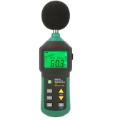 MASTECH MS6702 Digital Sound Level Meter Noise Meter dB Decible Meter Tester Temperature Humidity Meter Thermometer