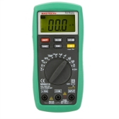 MASTECH MS8221C Auto Range Digital Multimeter DMM hFE Capacitance Temperature Meter Tester w/LCD Backlight & Optional Clamp