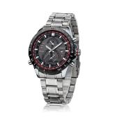 CURREN 8149 Business Men Wristwatch Water-resistant Fashion Stainless Steel Analog Quartz Calendar Watch