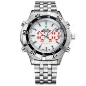 WH905 3ATM Water Resistant Multi-function Men Business Sport Military Luxury Analog& LED Digital Display Quartz Watch