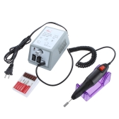 Manicure Pedicure Acrylics Electric Drill Nail Pen Machine Set Kit 110V US Plug
