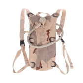 2.5L TPU Hydration System Bladder Water Bag Backpack Tan Camouflage