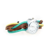 Ethnic Cowskin Strap Bracelet Watch   6