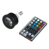 Colorful LED RGB 4W E14 Light Bulb Spotlight
