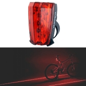 5 LED bicycle rear light  Laser Taillight