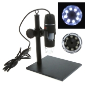 500X 8LED USB Digital Microscope Endoscope Magnifier