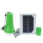 Solar Power 9 LED Flashlight Lamp Torch with Remote Control USB Mobile Power Portable for Outdoor Tent Garage Multifunctional