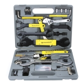 SAHOO Bike Bicycle Repairing Tool Set Kit Case Box Universal for Mountain Road Bicycle 44 in 1