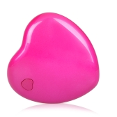 Mini Heart-shape LED Lamp Light Purple-light 3W Rose