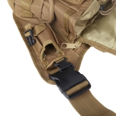 Molle Tactical Shoulder Strap Bag Pouch Travel Backpack Camera Military Bag Earth
