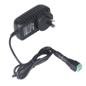 AC 100-240V to DC 12V 2A Power Supply Converter Adapter for LED Strip Light + Connector AU Plug