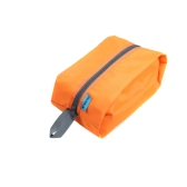Waterproof Portable Travel Tote Toiletries Laundry Shoe Pouch Storage Bag Orange