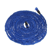 100FT Ultralight Flexible 3X Expandable Garden Magic Water Hose Pipe + Faucet Connector + Fast Connector + Multifunctional Spray Nozzle