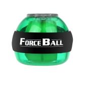 ジャイロスコープ LED 腕時計パワー力ボール グリップ ボール腕筋肉運動 Strengthener スピード メーター グリーン