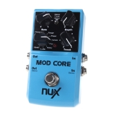 NUX MOD Core Guitar Effect Pedal 8 Modulation Effects Preset Tone Lock