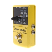 NUX Loop Core Guitar Electric Effect Pedal 6 Hours Recording Time Built-in Drum Patterns