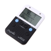 Cherub WSM-002 Clip-on Mini Rechargeable Electronic Metronome with LED Light 6 Preset Portable