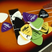 Alice 20pcs 1.50mm Smooth Nylon Guitar Picks Plectrums