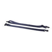 Adjustable Ukulele Ukelele Strap Lanyard Snap Fit Nylon with Hook Dark Blue