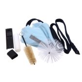 Saxophone Sax Cleaning Tool Cork Grease Brush Cloth Thumb Rest Cushion Reed Case Cleaning Kit