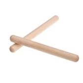 Pair of Rhythm Sticks Birch Kid Children Musical Toy Gift Percussion Instrument