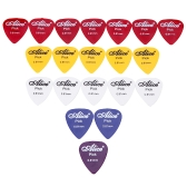Alice AP-P 20pcs 0.81mm Smooth ABS Guitar Picks Plectrums
