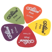 Alice AP-P 20pcs 0.71mm Smooth ABS Guitar Picks Plectrums