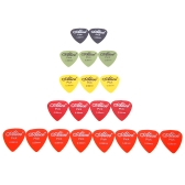Alice AP-P 20pcs 0.58mm Smooth ABS Guitar Picks Plectrum