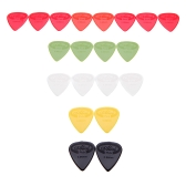 Alice AP-G 20pcs 0.96mm Projecting Nylon Guitar Picks Plectrums