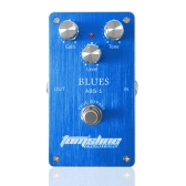 Aroma ABS-1 Blues Distortion Electric Guitar Effect Pedal Aluminum Alloy Housing True Bypass