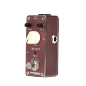 Aroma ACH-3 Mini Chorus Electric Guitar Effect Pedal with Fastener Tape Aluminum Alloy Housing True Bypass
