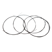 Alice AU02 4pcs Ukulele String Black Nylon Set