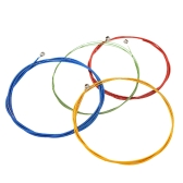 Alice A609C Colorful Electric Bass Strings Hexagonal Core Nickel Alloy Wound
