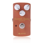 Joyo JF-36 Sweet Baby Electric Guitar Effect Pedal with Low Gain Overdrive Effect & Focus Knob