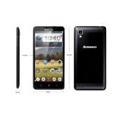 レノボ P780 スマート フォン MTK6589 クアッド コア 5.0」IPS 画面 Android 4.2 8.0MP カメラ 1 GB 4 GB WCDMA 3 G 4000 mah バッテリー ブラック